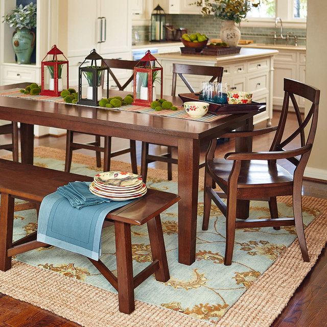 Torrance Dining Set - Contemporary - Dining Room - Dallas - by Pier