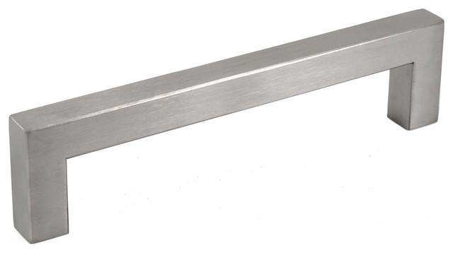 Celeste Square Bar Pull Cabinet Handle Brushed Nickel