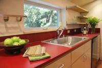 Terrabella Garage/Apartment - Contemporary - Kitchen ...
