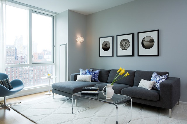 Sleek Living Room - living room