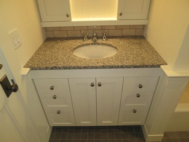 Custom Fit Bathroom Vanity And Medicine Cabinet