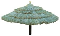 """Tropical Shade - Umbrella"""" Fiji Thatch - View in Your Room ..."""