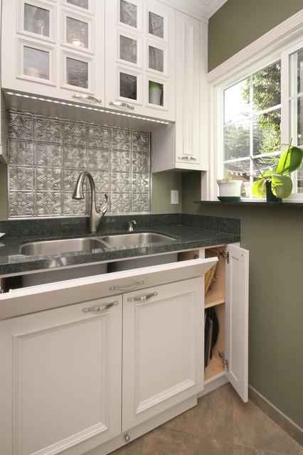 tile backsplash sink traditional kitchen kitchen sink backsplash ideas ehow