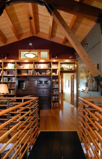 Refined + Rustic - Rustic - Family Room - Seattle - by ...