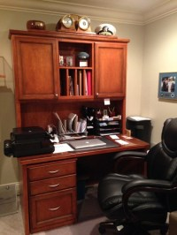 Custom Built Desk - Traditional - Home Office - by ...