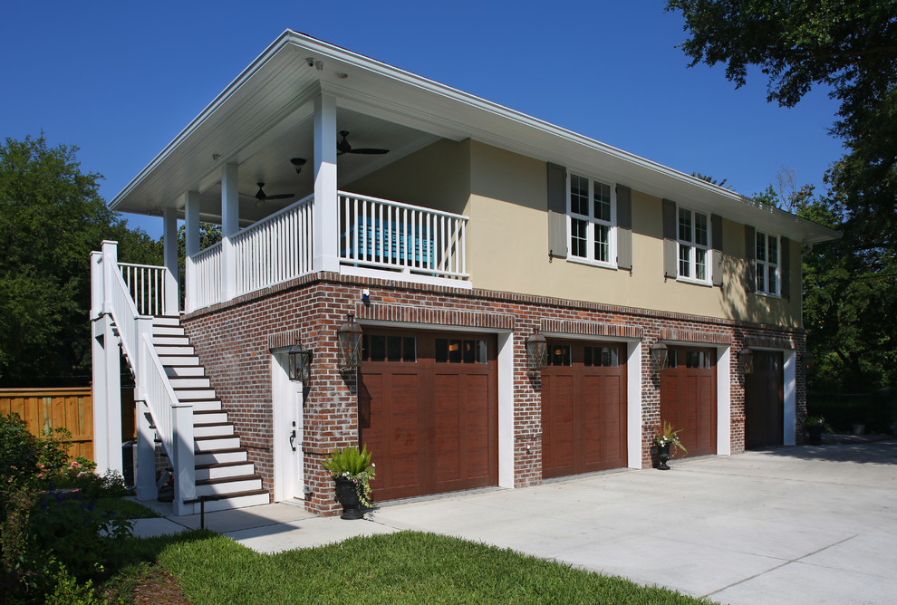2015 Ortega Detached Garage And Living Space Traditional