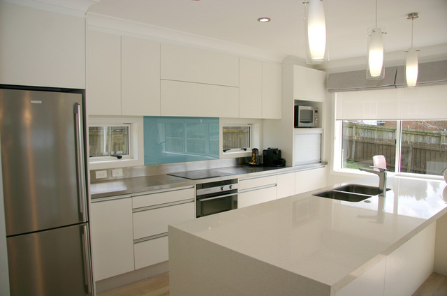 Modern contemporary minimalist kitchen design - Contemporary - contemporary kitchen design