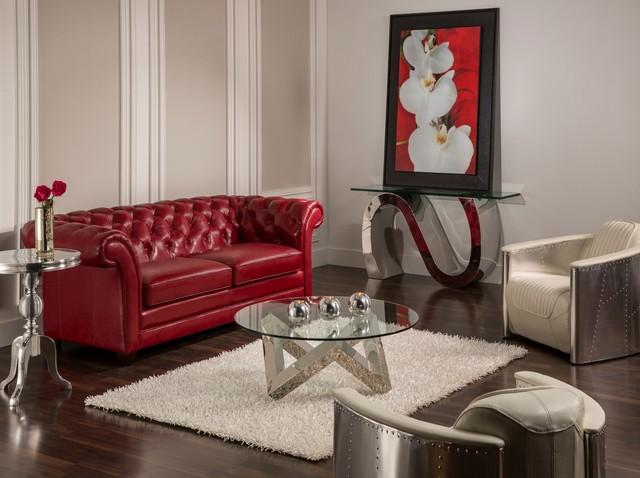 The Olivia Sofa meets the Aviation chairs - Contemporary - Living - el dorado living room sets