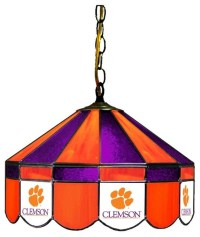 16 Clemson Tigers Light Lamp With Tiffany Shade ...