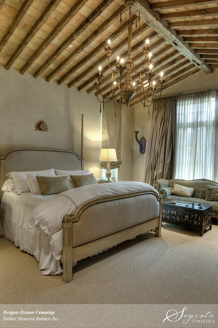 Outdoor Lighting Houzz European Farmhouse - Farmhouse - Bedroom - Houston - By