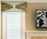 Beach House Cornice Window Treatment - Beach Style ...