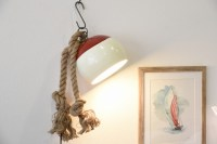 Nautical Bobber Hanging Plug In Sconce - Beach Style ...