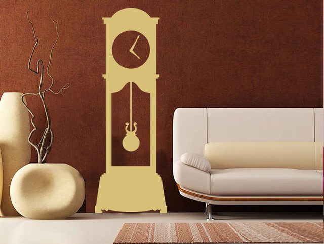 Clock For Living Room Clock Living Room Heart Mirror Decoration - living room clock