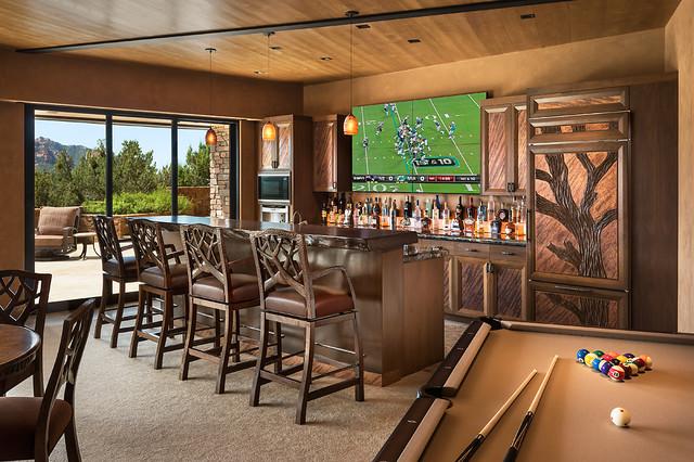 sedona southwestern home bar design directives llc southwestern home plans southwestern style home designs