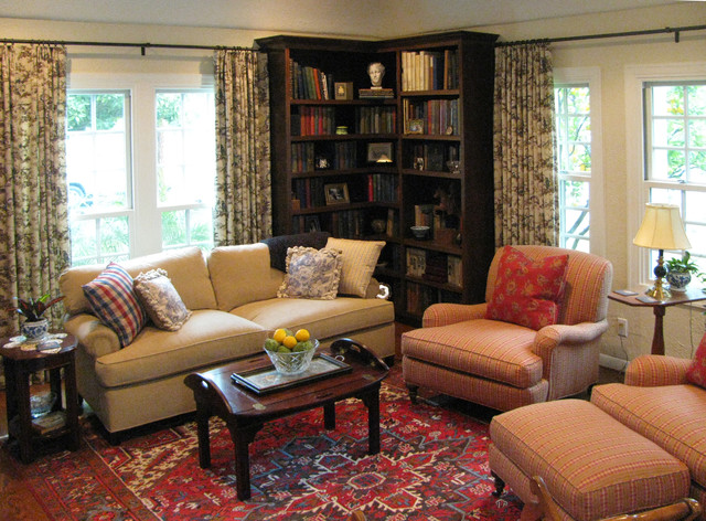 English Cottage With French Country Furnishings