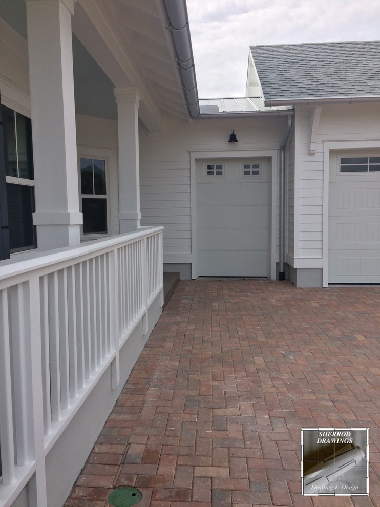 Beach Bungalow Craftsman Garage Jacksonville By