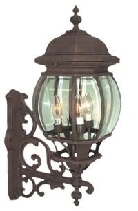 Woodbridge Lighting - Basic 4-Light Outdoor Sconce ...