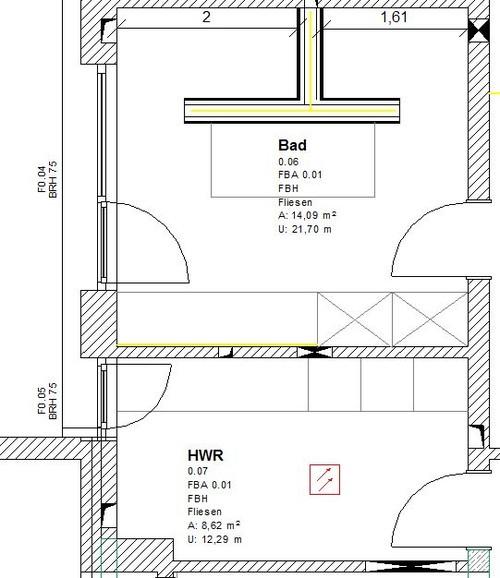 Badplanung   Hilfe Erwünscht   Badezimmer T Wand
