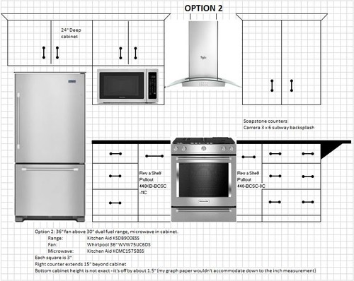 Kitchen Layout Help Many Diagrams Included