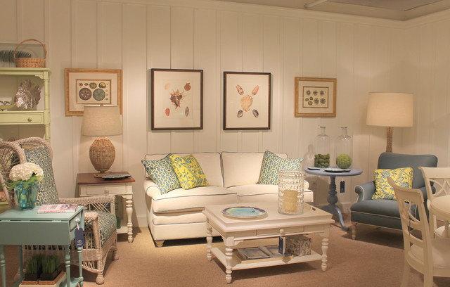 Coastal Living Cottage Accents - Tropical - Family Room - Miami - coastal living room furniture