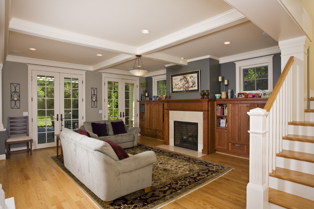 Palo Alto Craftsman - Craftsman - Living Room - San Francisco - by - craftsman living room