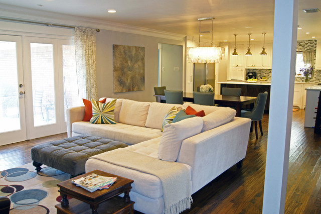 Kara Weik © 2012 Houzz - Transitional - Living Room - Dallas - by - houzz living room furniture