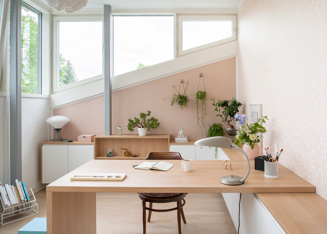 Home Office Berlin Houzzbesuch: Die Lighthouse-family In Berlin-dahlem
