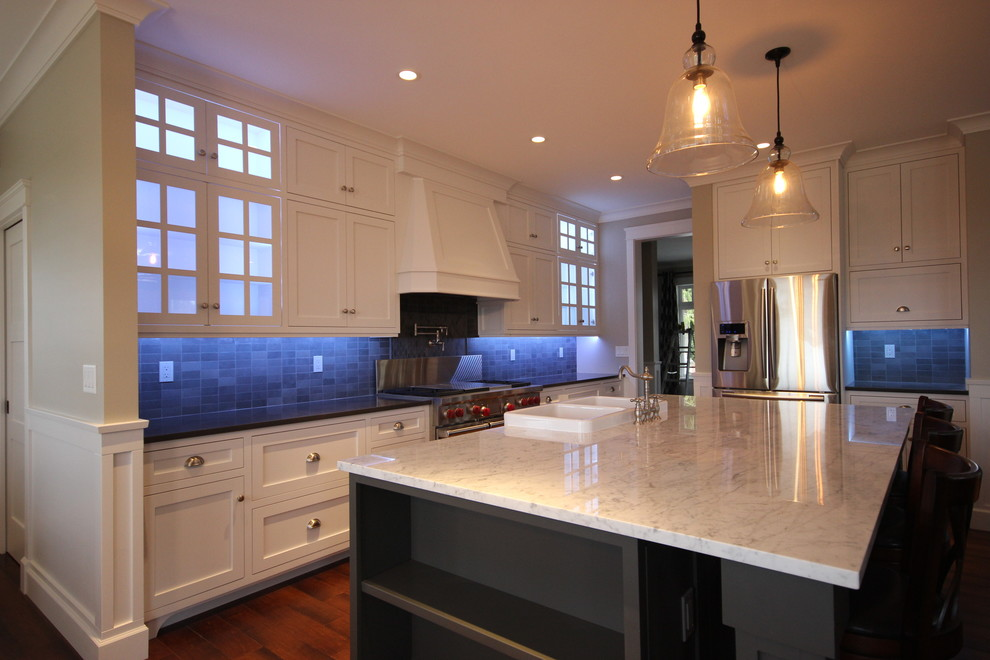 Abbotsford New Build Traditional Kitchen Vancouver