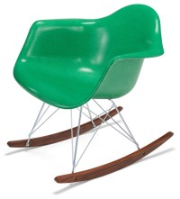 Rocker Base With Arm Shell Chair - Rocking Chairs - by ...