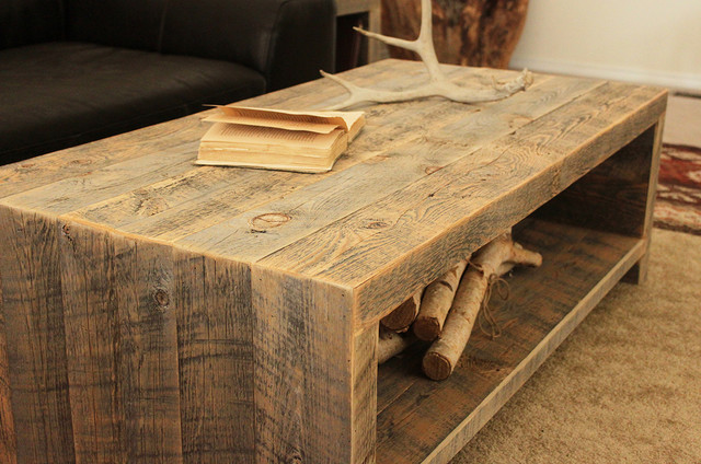 Couchtisch Xbox Reclaimed Wood Coffee Table - Modern - Coffee Tables