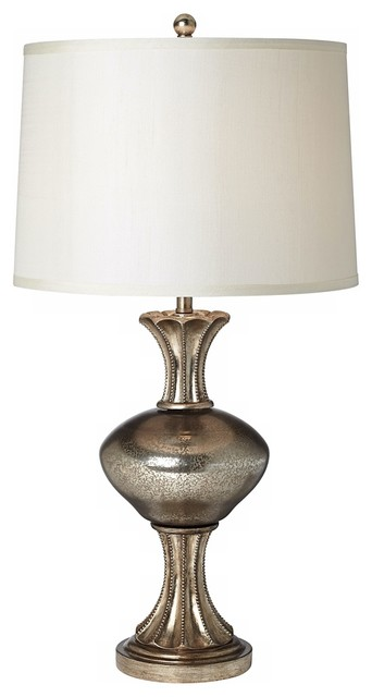 Kathy ireland reflections mercury glass table lamp