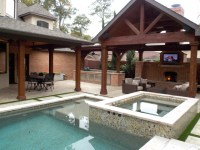 Outdoor Living Spaces - Traditional - Pool - Houston - by ...