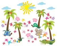 Shop Houzz | WallDecalSource Summer Decal- Beach Wall ...