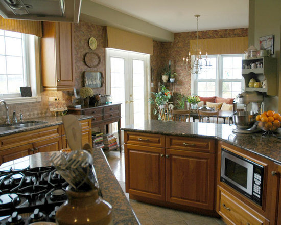 wall color multi traditional shaped kitchen design photos small eat kitchen design photos multi colored backsplash