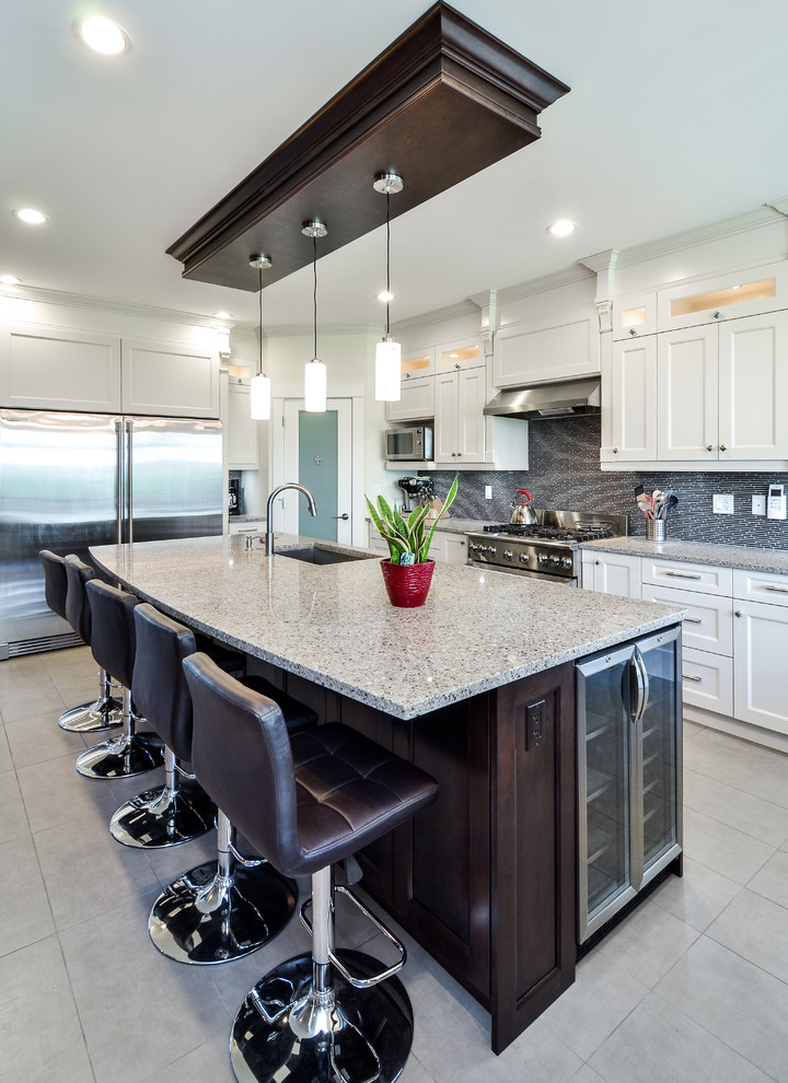 Classy And Elegant Kitchen Cabinets Vancouver Modern