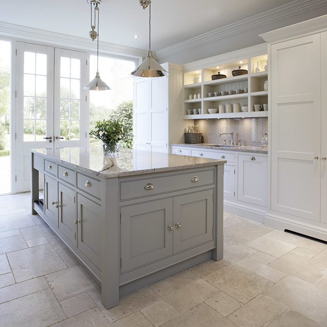 Contemporary Shaker Kitchen - Transitional - Kitchen - Manchester - transitional kitchen design