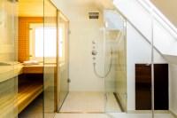 Umbau eines Einfamilienhauses - Modern - Badezimmer ...