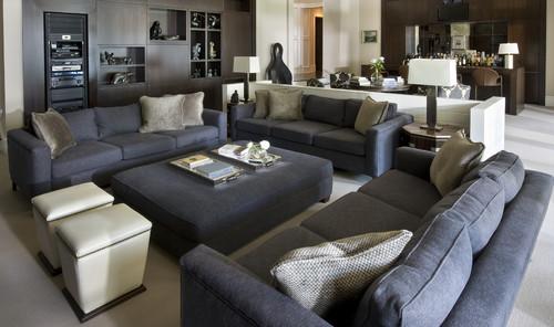 Sofa \ ottoman - living room ottoman