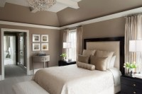 Transitional Master Bedroom in Saint Davids - Transitional ...