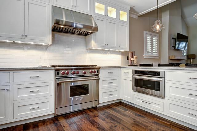 Elegant inset shaker transitional kitchen charleston by robert