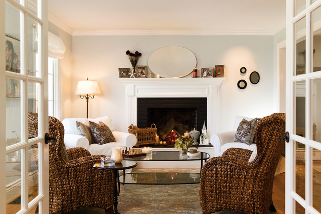 Tiburon home remodel - Beach Style - Living Room - San Francisco - beach style living room