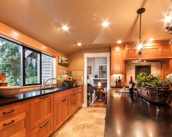 small shaped eat kitchen design ideas remodels photos type kitchen dining