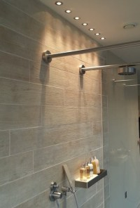 Shower lights at the Lakes - Contemporary - Bathroom ...