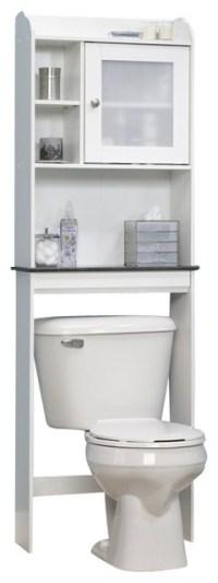 Sauder Caraway Bathroom Shelf, Soft White - Contemporary ...