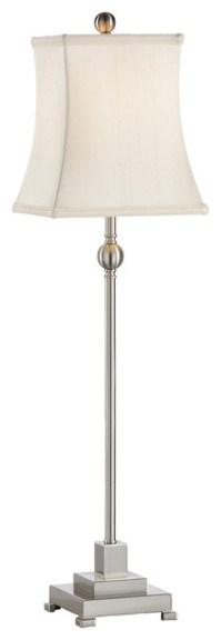 Chelsea House Kensington Brushed Nickel Buffet Lamp 68737 ...