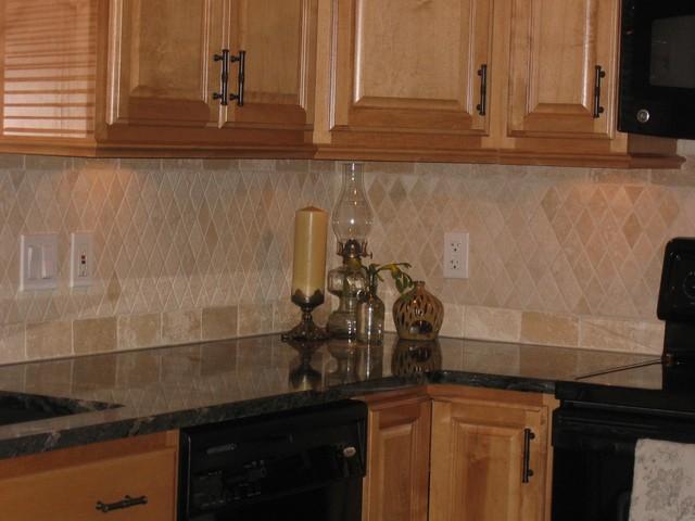 travertine backsplash traditional kitchen philadelphia kitchen backsplash traditional kitchen