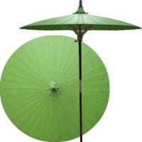 Oriental Patio Umbrella - Asian - Outdoor Umbrellas - by ...