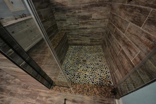 Faux Wood Tile Bathroom Takethisweeksplaylistco
