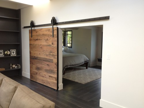 Sliding Barn Door - Tobacco Barn Wood