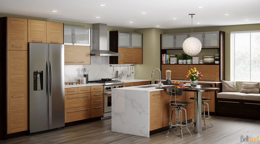 Bellmont 1900 Series Contemporary Kitchen Seattle